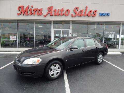 2008 Chevrolet Impala for sale at Mira Auto Sales in Dayton OH