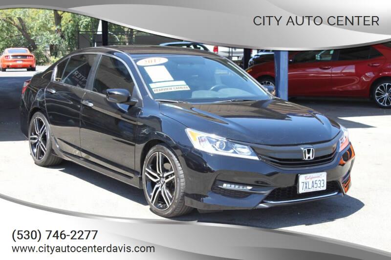 2017 Honda Accord for sale at City Auto Center in Davis CA