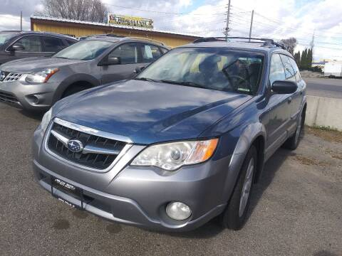 2008 Subaru Outback for sale at BELOW BOOK AUTO SALES in Idaho Falls ID