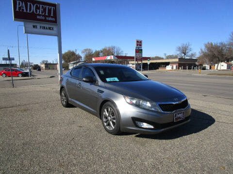 2013 Kia Optima for sale at Padgett Auto Sales in Aberdeen SD