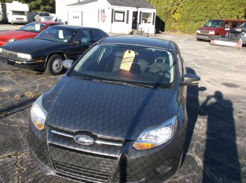 2014 Ford Focus for sale at M & N CARRAL in Osceola IN