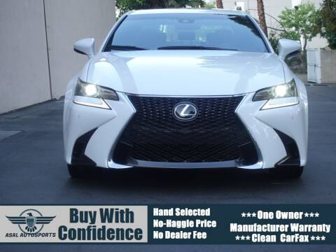 2016 Lexus GS 350 for sale at ASAL AUTOSPORTS in Corona CA