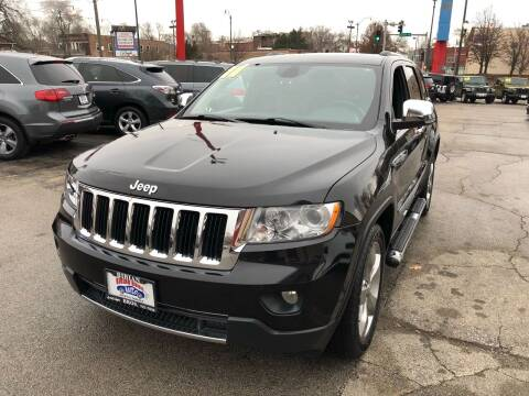 2011 Jeep Grand Cherokee for sale at Bibian Brothers Auto Sales & Service in Joliet IL