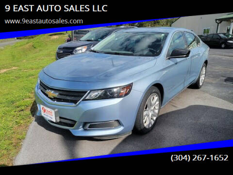 2015 Chevrolet Impala for sale at 9 EAST AUTO SALES LLC in Martinsburg WV