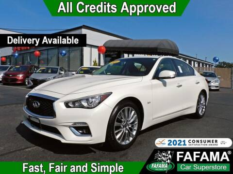 2018 Infiniti Q50 for sale at FAFAMA AUTO SALES Inc in Milford MA