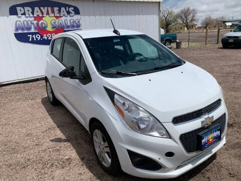 2015 Chevrolet Spark for sale at Praylea's Auto Sales in Peyton CO