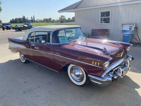 1957 Chevrolet Bel Air for sale at B & B Auto Sales in Brookings SD