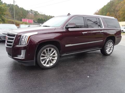 2017 Cadillac Escalade ESV for sale at Luxury Auto Innovations in Flowery Branch GA