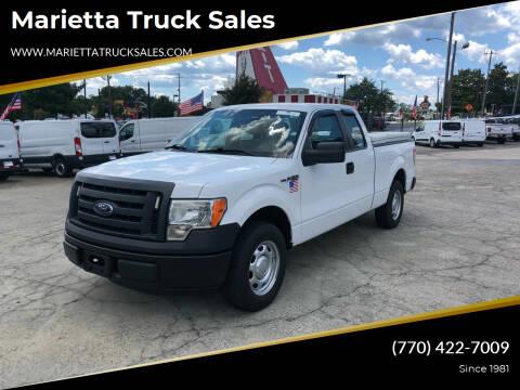 2012 Ford F-150 for sale at Marietta Truck Sales in Marietta GA