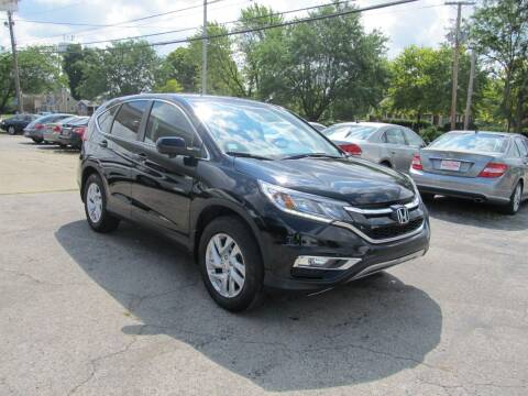 2016 Honda CR-V for sale at St. Mary Auto Sales in Hilliard OH