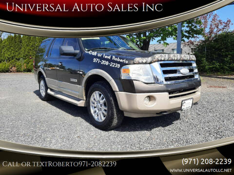 2008 Ford Expedition for sale at Universal Auto Sales Inc in Salem OR