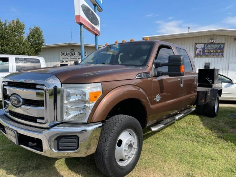 2012 Ford F-350 Super Duty for sale at Lumpy's Auto Sales in Oklahoma City OK