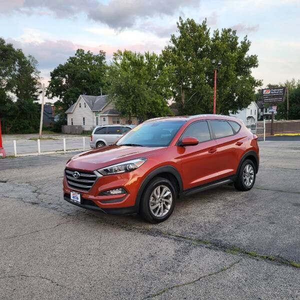 2016 Hyundai Tucson for sale at Bibian Brothers Auto Sales & Service in Joliet IL