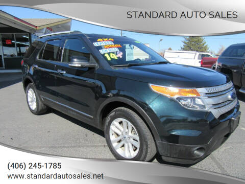 2014 Ford Explorer for sale at Standard Auto Sales in Billings MT