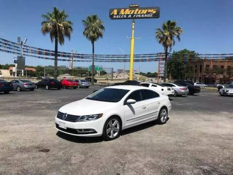2013 Volkswagen CC for sale at A MOTORS SALES AND FINANCE in San Antonio TX