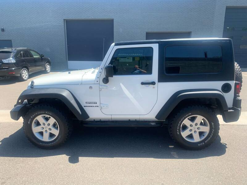 2010 Jeep Wrangler for sale at The Car Buying Center in St Louis Park MN