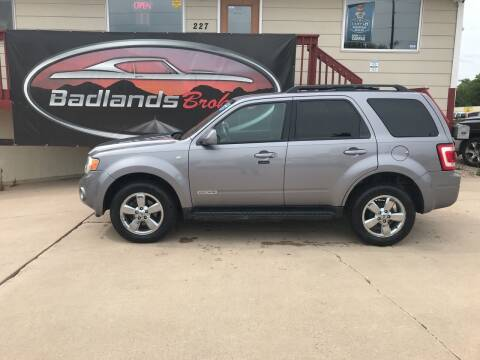 2008 Ford Escape for sale at Badlands Brokers in Rapid City SD