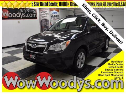 2016 Subaru Forester for sale at WOODY'S AUTOMOTIVE GROUP in Chillicothe MO