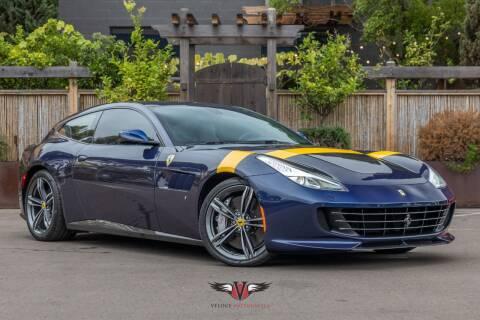2017 Ferrari GTC4Lusso for sale at Veloce Motorsales in San Diego CA