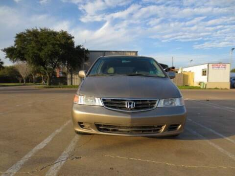 2004 Honda Odyssey for sale at MOTORS OF TEXAS in Houston TX