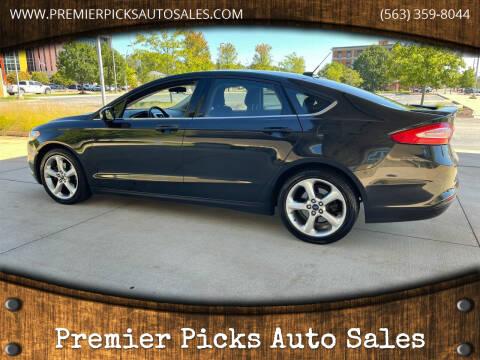 2014 Ford Fusion for sale at Premier Picks Auto Sales in Bettendorf IA