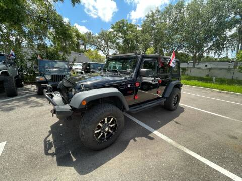 2016 Jeep Wrangler Unlimited for sale at Bay City Autosales in Tampa FL