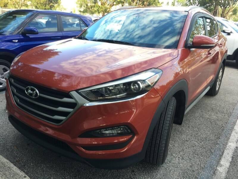 2017 Hyundai Tucson for sale at DORAL HYUNDAI in Doral FL
