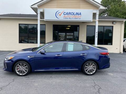 2018 Kia Optima for sale at Carolina Auto Credit in Youngsville NC