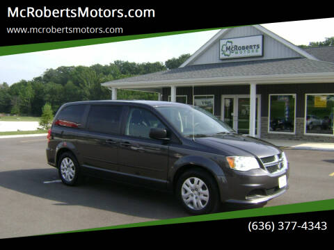 2016 Dodge Grand Caravan for sale at McRobertsMotors.com in Warrenton MO