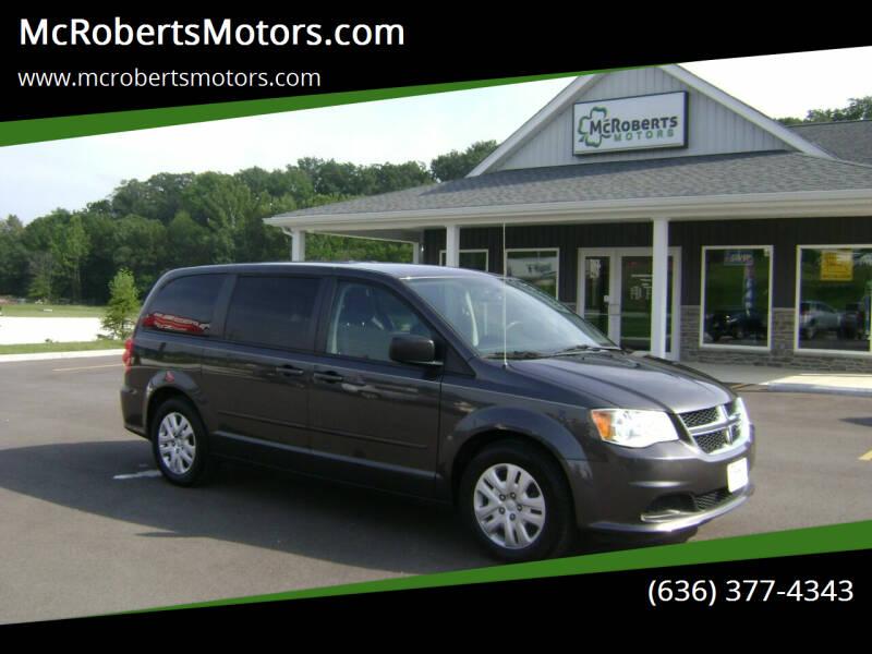 2016 Dodge Grand Caravan for sale at McRobertsMotors.com in Warrenton MO