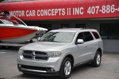 2012 Dodge Durango for sale at Motor Car Concepts II - Kirkman Location in Orlando FL
