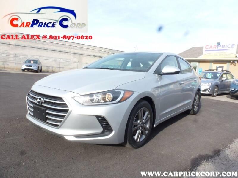2018 Hyundai Elantra for sale at CarPrice Corp in Murray UT