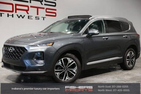 2019 Hyundai Santa Fe for sale at Fishers Imports in Fishers IN