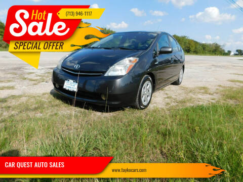 2009 Toyota Prius for sale at CAR QUEST AUTO SALES in Houston TX