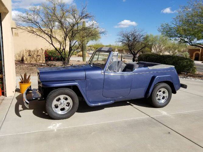 1949 Willys Jeepster for sale in Cadillac, MI