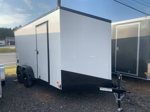 2021 Bravo Scout Midnight 7x14 for sale at Smart Choice 61 Trailers in Shoemakersville PA