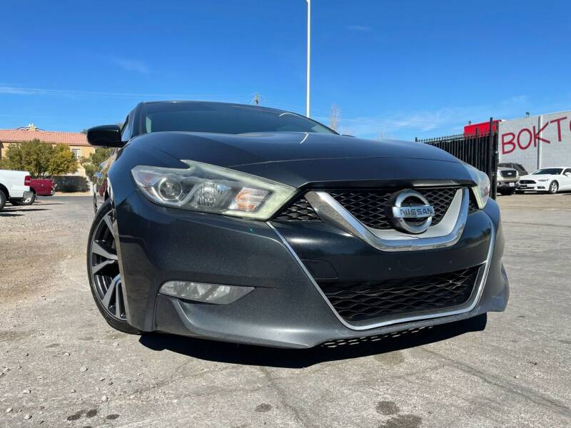 2016 Nissan Maxima for sale at Boktor Motors in Las Vegas NV