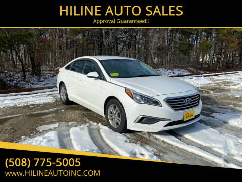 2016 Hyundai Sonata for sale at HILINE AUTO SALES in Hyannis MA