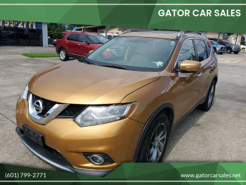 2014 Nissan Rogue for sale at Gator Car Sales in Picayune MS