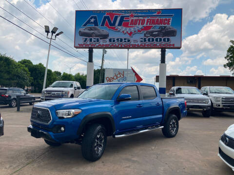 2018 Toyota Tacoma for sale at ANF AUTO FINANCE in Houston TX