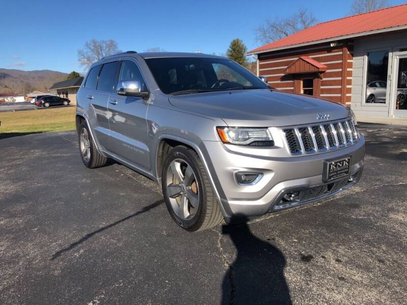 2014 Jeep Grand Cherokee for sale at KNK AUTOMOTIVE in Erwin TN