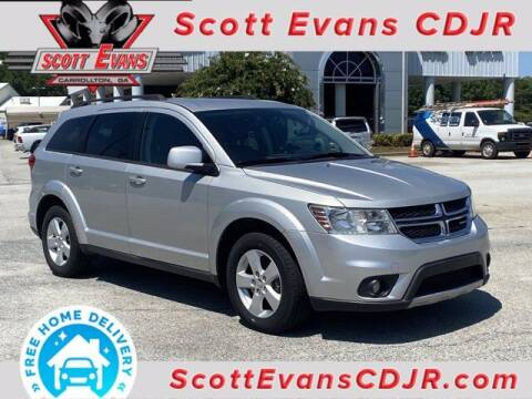 2012 Dodge Journey for sale at SCOTT EVANS CHRYSLER DODGE in Carrollton GA