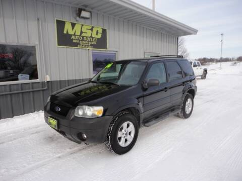 2006 Ford Escape for sale at Moss Service Center-MSC Auto Outlet in West Union IA