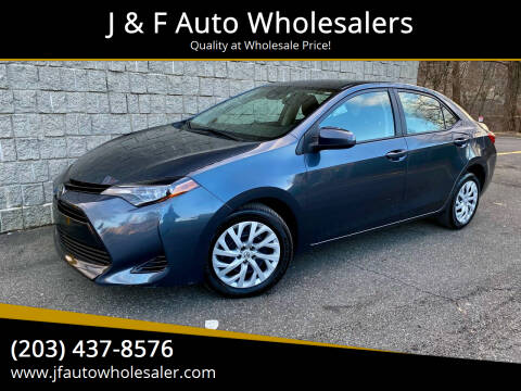 2018 Toyota Corolla for sale at J & F Auto Wholesalers in Waterbury CT