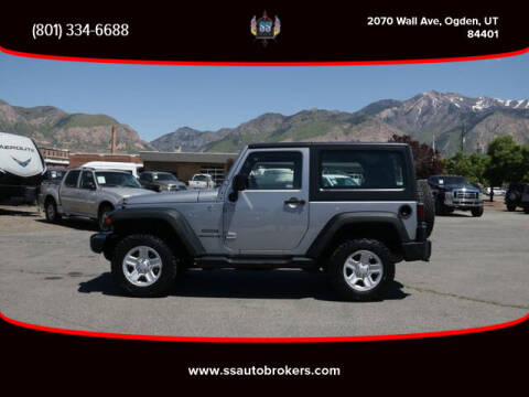2014 Jeep Wrangler for sale at S S Auto Brokers in Ogden UT