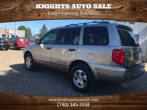 2003 Honda Pilot for sale at Knights Auto Sale in Newark OH