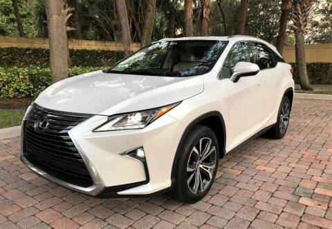 2016 Lexus RX 350 for sale at DENMARK AUTO BROKERS in Riviera Beach FL