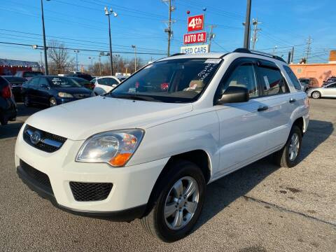 2009 Kia Sportage for sale at 4th Street Auto in Louisville KY