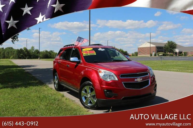 2015 Chevrolet Equinox for sale at AUTO VILLAGE LLC in Lebanon TN