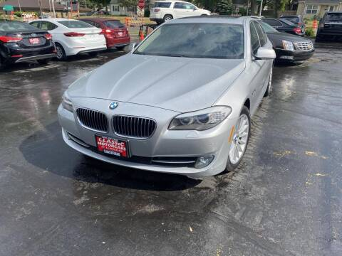 2011 BMW 5 Series for sale at CLASSIC MOTOR CARS in West Allis WI